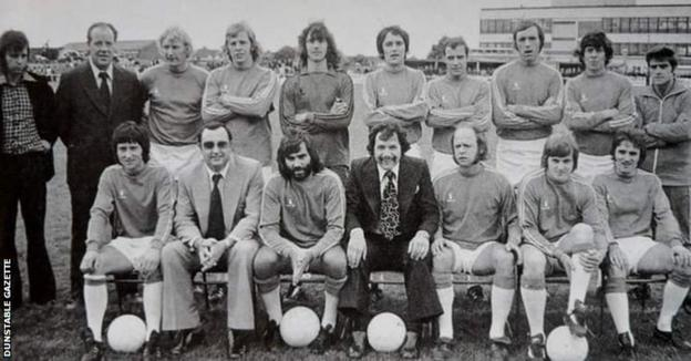 George Best in the Dunstable Team photo