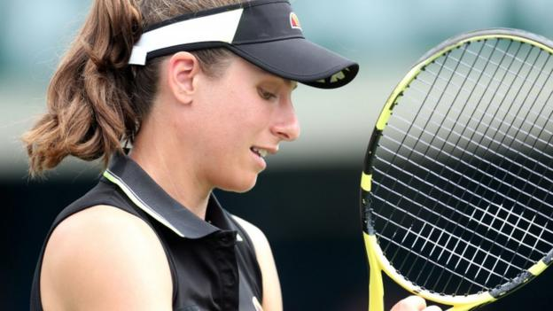 Eastbourne: Johanna Konta loses to Ons Jabeur in third round thumbnail