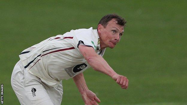 Kent's Will Gidman has taken 276 wickets across all formats during his career
