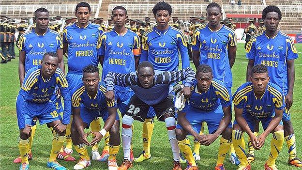 Zanzibar's national football team