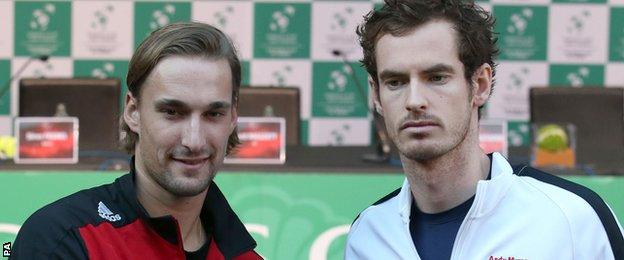 Ruben Bemelmans and Andy Murray