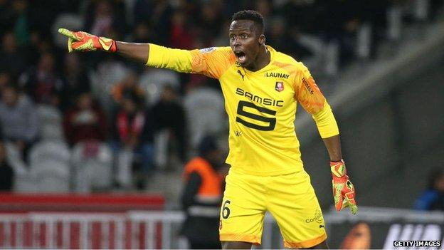 Chelsea agree £26million deal for Rennes goalkeeper Edouard Mendy
