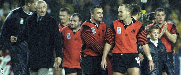 Jim Telfer and Gregor Townsend