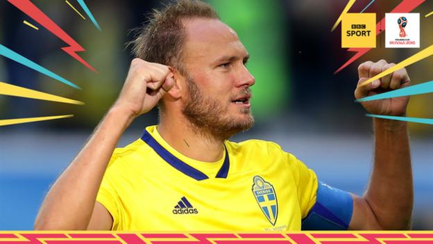 Man of the match is Sweden's Andreas Granqvist