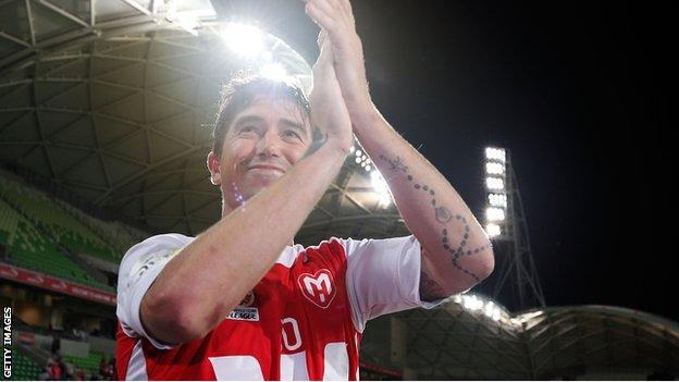 Harry Kewell retiring with Melbourne Heart