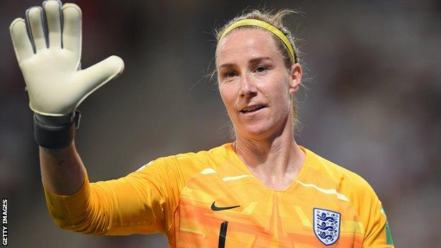 Karen Bardsley is playing in her third World Cup for England