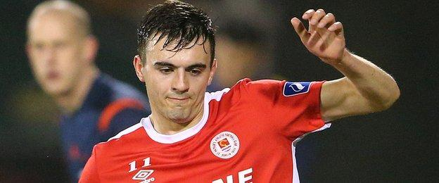 Mark Timlin has returned to Derry after one year with St Patrick's Athletic