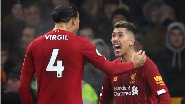 Firmino scores late Liverpool winner against Wolves thumbnail