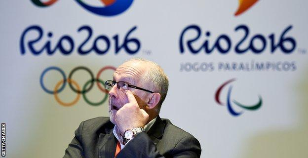 Paralympic Committee president Sir Philip Craven