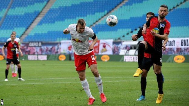 Leipzig goal