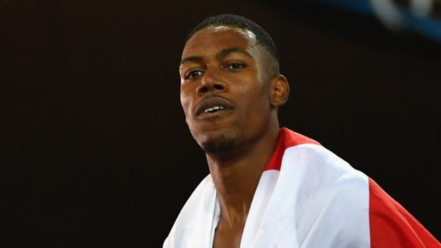 Zharnel Hughes beats Yohan Blake and Tyson Gay in Boston Games 100m