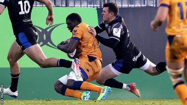 European Challenge Cup: Bath 10-19 Montpellier - French defence blunts English final hopes thumbnail