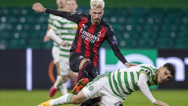 Celtic succumbed to a 3-1 defat at home to AC Milan