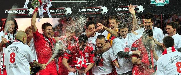 Liverpool last won the League Cup in 2012