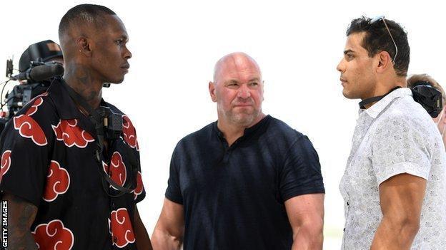 UFC 253: Adesanya vs