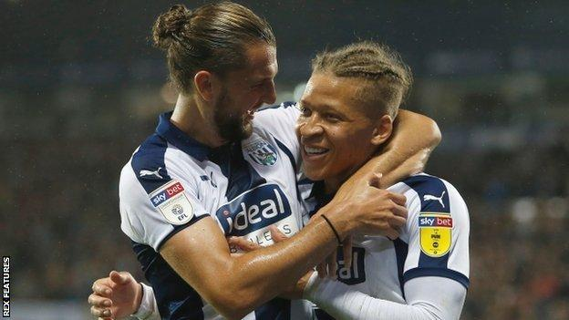 Jay Rodriguez (left) and Dwight Gayle have scored 16 goals between them this season
