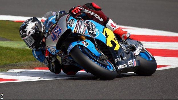 British MotoGP rider Scott Redding