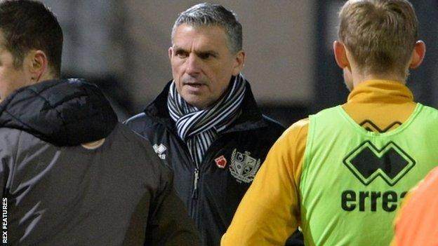 John Askey was in charge of Macclesfield and Shrewsbury before coming to Burslem in February 2019