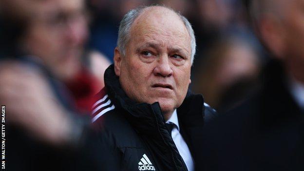 Al Ahly coach Martin Jol