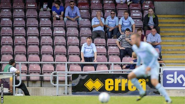 Coventry City at Sixfields