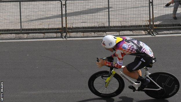 EF PRo Radfahren am Giro