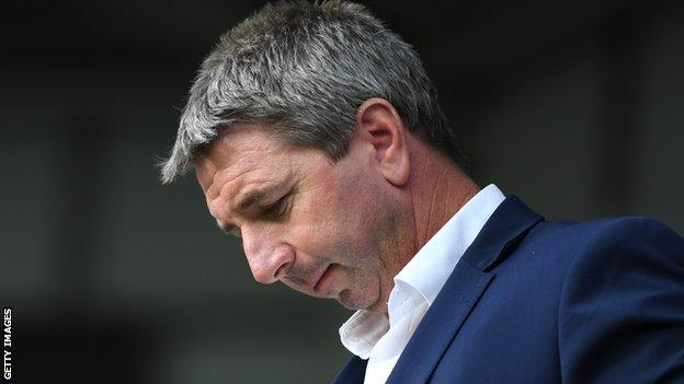 Warrington coach Steve Price