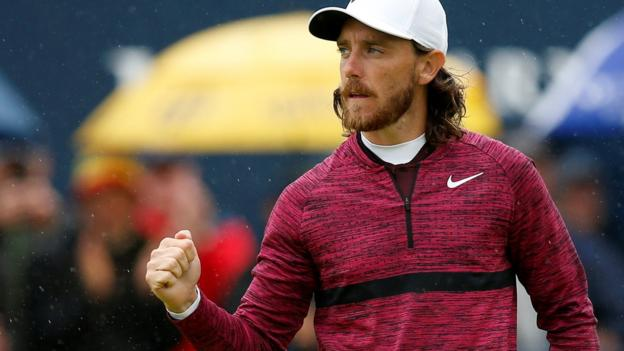 The Open 2018: Tommy Fleetwood takes share of lead, Rory McIlroy in contention