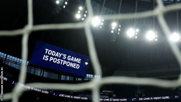 Tottenham to face Fulham on Wednesday after Spurs' match v Villa postponed thumbnail