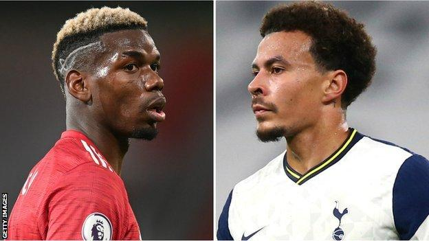 Paul Pogba ve Dele Alli