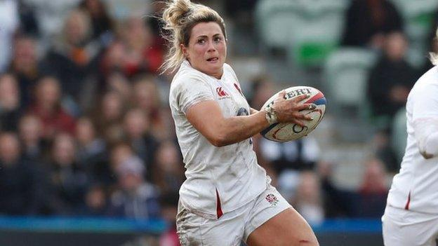 Fleetwood has 76 England caps and was part of the 2014 Women's World Cup winning team