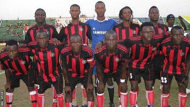 Sierra Leone domestic league champions, East End Lions