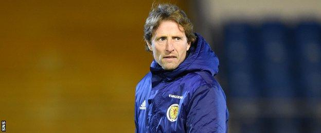 Scot Gemmill names his first Scotland Under-21 squad on Tuesday