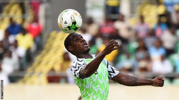 Nigeria's Odion Ighalo
