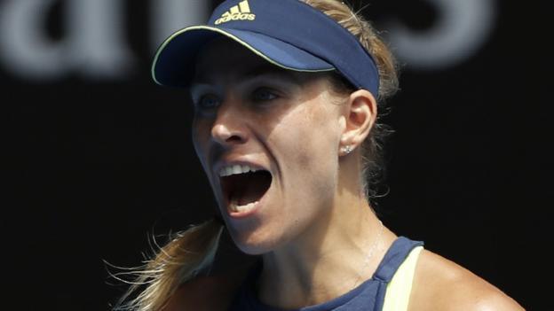 Australian Open 2018: Angelique Kerber thrashes Madison Keys to reach semis