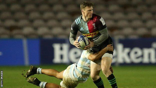 Chris Ashton playing for Harlequins