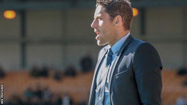 Port Vale caretaker-manager Michael Brown