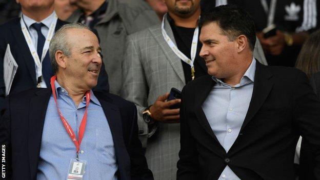 Swansea City owners Steve Kaplan and Jason Levien