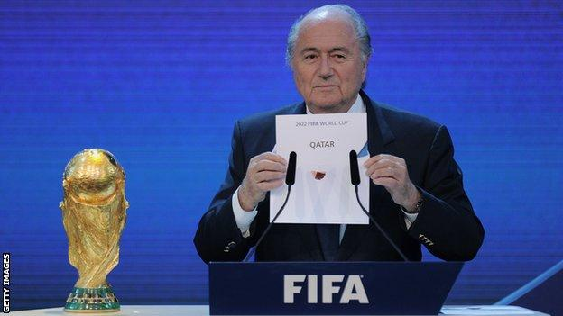 Qatar, a country with a population of 2.7 million, were controversially awarded the World Cup in 2010