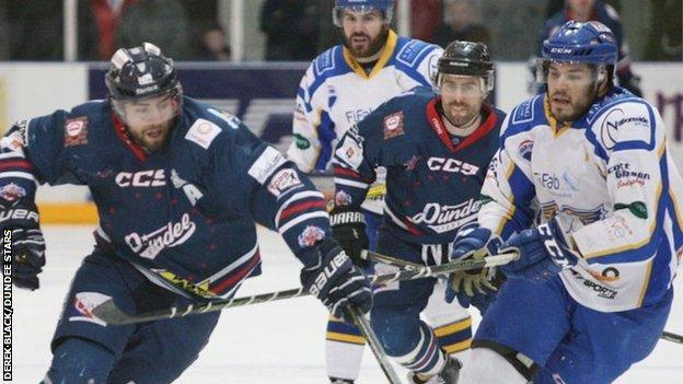 Dundee Stars against Fife Flyers
