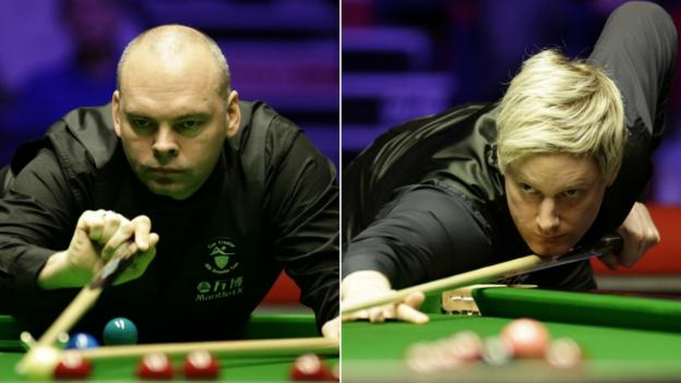 Welsh Open: Neil Robertson to play Stuart Bingham in final thumbnail