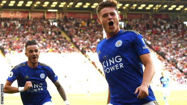 Harvey Barnes fired the winner moments after coming off the bench