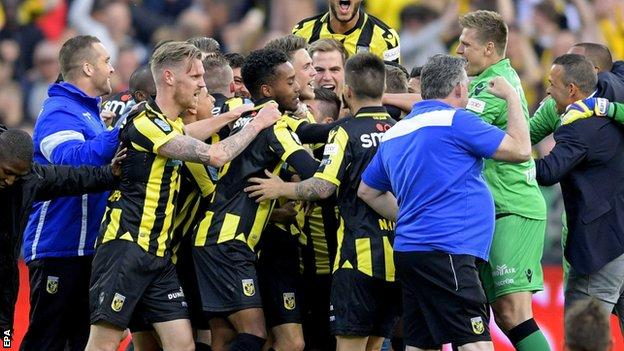 Vitesse Arnhem had lost their past three appearances in the Dutch Cup final