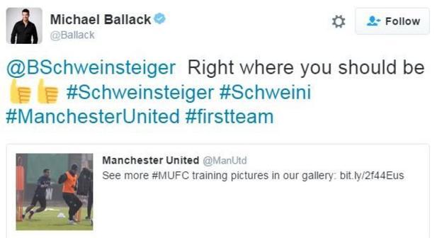Michael Ballack Bastian Schweinsteiger