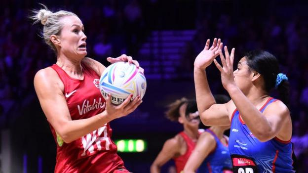 Netball World Cup 2019: England thrash Samoa to top group D thumbnail