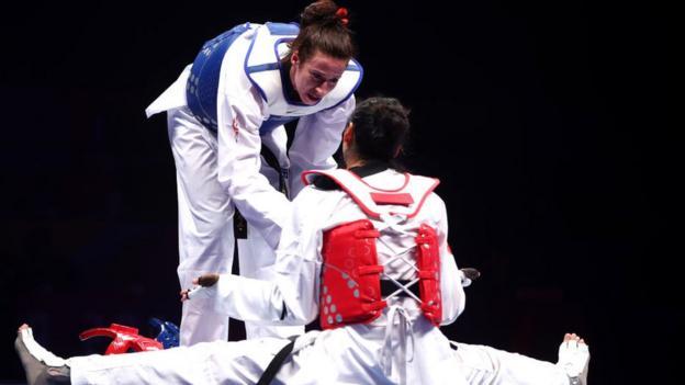 World Taekwondo Championships: Bianca Walkden win leaves Zheng Shuyin in tears thumbnail