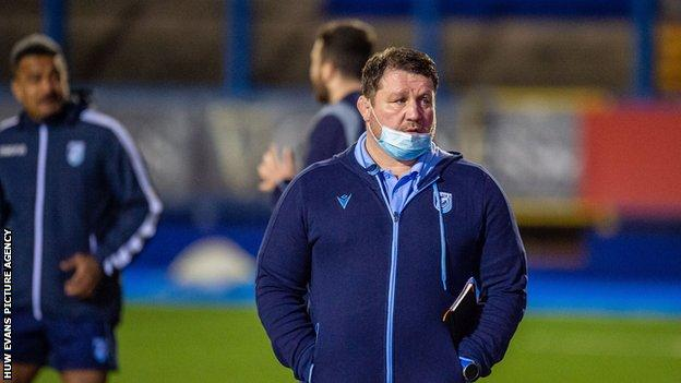 Dai Young is in his second stint as boss at Cardiff Arms Park