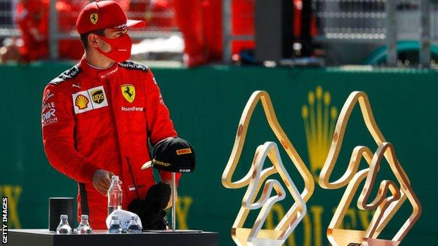 Lucky Leclerc: Charles Leclerc scrapes a podium. But lightning doesn't strike twice. With the same race again next weekend, how will Ferrari fare in race number two?