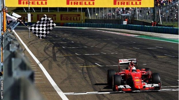 Sebastian Vettel wins in Hungary