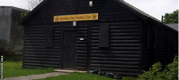 Hutchison Vale clubhouse