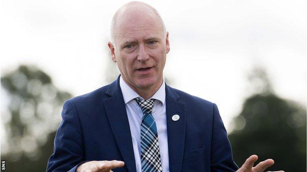 Sport Minister Joe Fitzpatrick